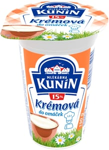 Mlékárna Kunín Krémová do omáček 15%