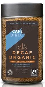 Cafédirect BIO Instantní káva bez kofeinu