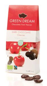 Green Dream BIO Třešně v hořké čokoládě