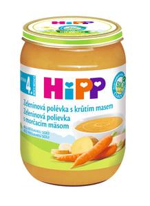 HiPP BIO Zeleninová polévka s krůtím masem