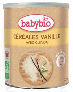 Babybio BIO Nemléčná rýžovo-quinoová kaše s vanilkou