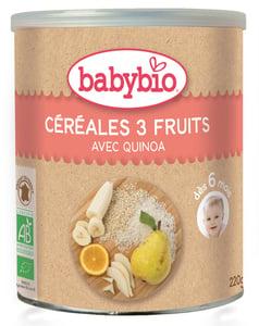 Babybio BIO Nemléčná rýžovo-quinoová kaše s ovocem