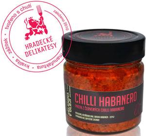 Hradecké delikatesy Pasta z červených chilli Habanero