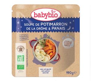Babybio BIO Dýňová polévka s pastinákem