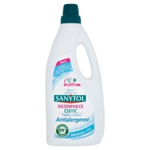 Sanytol Dezinfekce čistič podlahy & plochy antialergenní