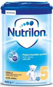Nutrilon 5 Vanilka dětské mléko, od 36. měsíce