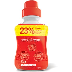 Sodastream sirup s příchutí coly