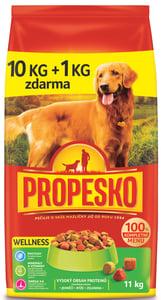Propesko Wellness - s jehněčím, rýží, zeleninou granule pro psy