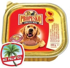 Propesko s kuřecím a játry vanička pro psy