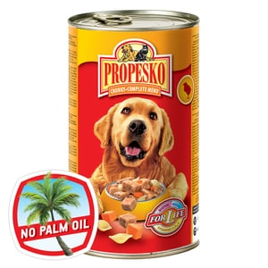 Propesko kousky pro psy v omáčce - kuře + těstoviny + mrkev