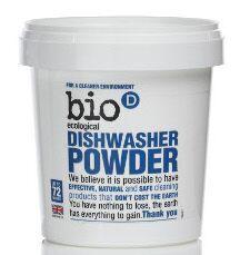 Bio-D BIO Prášek do myčky (0,72kg)