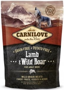 Carnilove Lamb & Wild Board for Adult