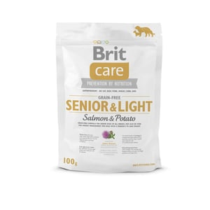 VZOREK: Brit Care Grain-free Senior&Light Salmon & Potato 1ks