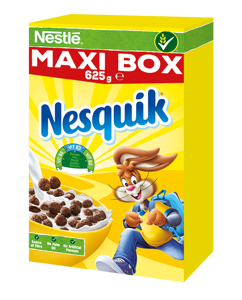 Nestlé NESQUIK Maxi Box snídaňové cereálie