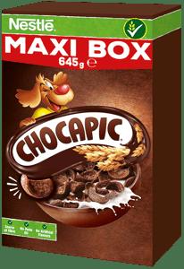 Nestlé CHOCAPIC Maxi Box snídaňové cereálie