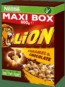 Nestlé LION Maxi Box snídaňové cereálie