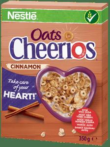 Nestlé CHEERIOS OATS Skořicové snídaňové cereálie