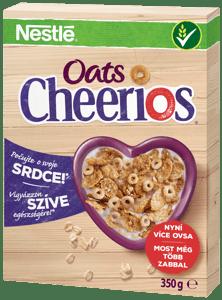 Nestlé CHEERIOS OATS snídaňové cereálie