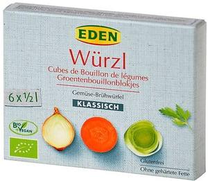 WÜRZL BIO Bujon zeleninový kostky 3l (6x11g)