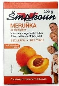 Šmakoun s příchutí meruňka