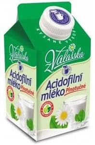 Mlékárna ValMez Acidofilní mléko plnotučné 3,6%