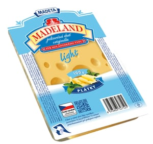 Madeta Madeland light 30% plátky
