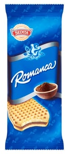 Sedita Romanca Sušenky s krémovou náplní s kakaem