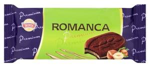 Sedita Romanca Premium Kakaové sušenky s čokoládou a lískoořechovo-arašídovou náplní