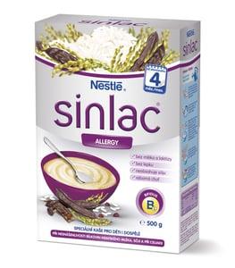 Nestlé Nemléčná kaše Sinlac Allergy