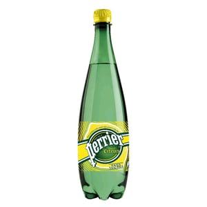 Perrier Lemon minerální voda perlivá 1l