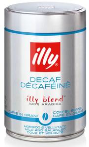 illy Espresso káva mletá bez kofeinu
