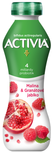 Danone Activia Jogurtový nápoj malina/granátové jablko