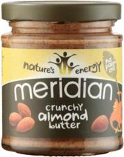 Meridian foods Mandlový krém Crunchy