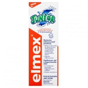 Elmex Junior Ústní voda bez alkoholu s aminfluoridem 6-12 let