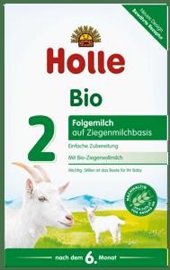 Holle BIO Dětská mléčná výživa na bázi kozího mléka 2 od ukončeného 6. měsíce
