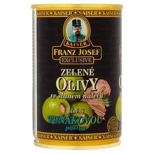 Franz Josef Kaiser Olivy zelené plněné tuňákovou pastou