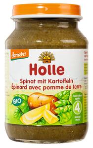 Holle BIO Dětská přesnídávka špenát s bramborem