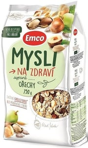 Emco Mysli na Zdraví Sypané Ořechy