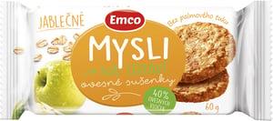 Emco Mysli na zdraví Ovesné sušenky jablečné