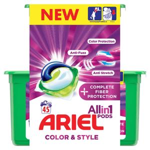 Ariel Complete Shape 3in1 gelové kapsle 45ks
