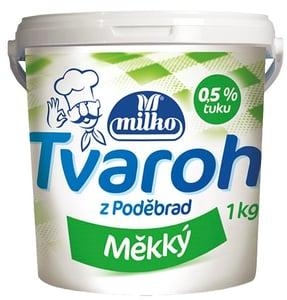 Milko Tvaroh Měkký odtučněný kbelík