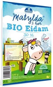 Matylda BIO Sýr eidam 30% plátky