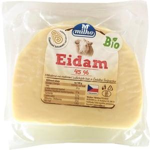 Milko BIO Sýr eidam 45% bloček