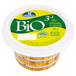 Milko BIO Tavený sýr 3 v 1