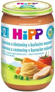 HiPP BIO Zelenina a těstoviny s kuřecím masem