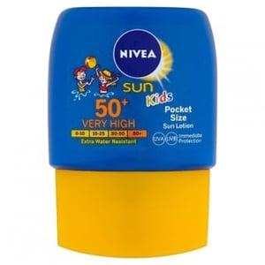 Nivea Sun Kapesní dětské mléko na opalování OF 50+