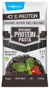 MAX SPORT BIO Organic pasta černé fazole