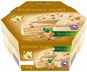 Můj dortík Medový Kyjevský dort