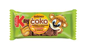 Kubík Čoko sušenky