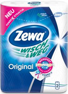 Zewa Wisch&Weg kuchyňské utěrky 2 vrstvé, 2ks